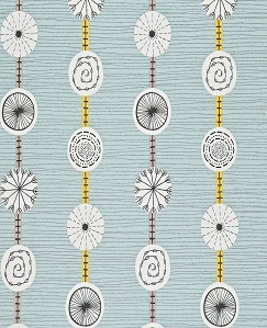Shop Online For Sanderson Atomic Wallpaper (Pebble/Yellow) From The  Collection Here At Fashion Interiors.