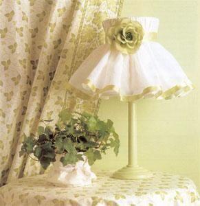 Ваш дом - Интерьер - Спальня - Планировка и оформление - Чехлы для абажуров