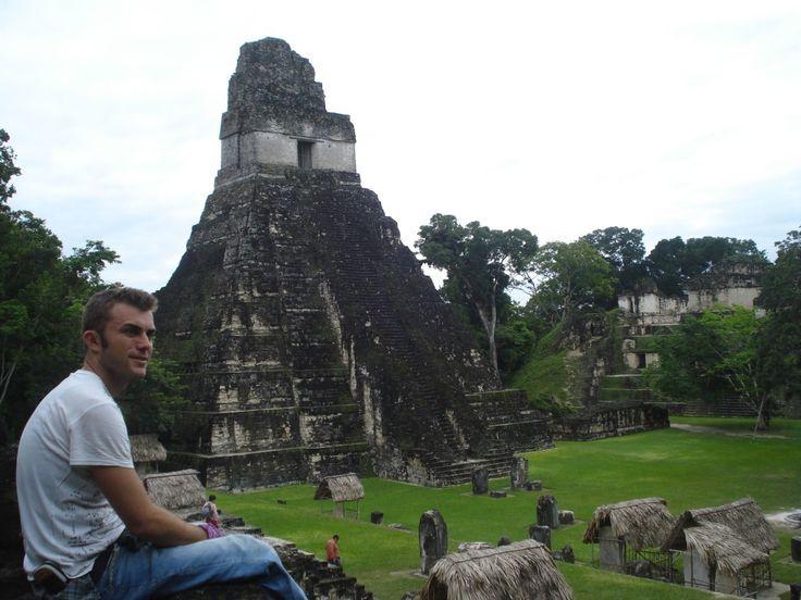 Il sito di Tikal in Guatemala