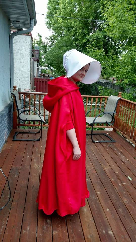 """Learn how to make your own """"Wings"""", inspired by Hulu's adaptation of Margaret Atwood's """"The #HandmaidsTale. This bonnet is relatively quick and easy to make, and works well for all your Handmaid's Tale costuming needs - whether #cosplay or #protest in nature.  SEWING EXPERIENCE: Intermediate  SIZE: This pattern is considered one-size-fits all, adult. PATTERN DETAILS: 10 pages of tutorial, 4 pages of pattern comes as single digital PDF to print at home. Pattern prints onto multiple sheets of…"""