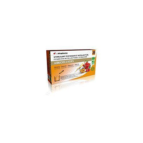 Arkopharma Arkofluides Stimulant Physique et Intellectuel 20 Ampoules: Stimulant physique et intellectuel. Portion journalière recommandée:…