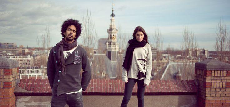 Rambler - t-shirts ontworpen door straatjongeren - zeedijk 54