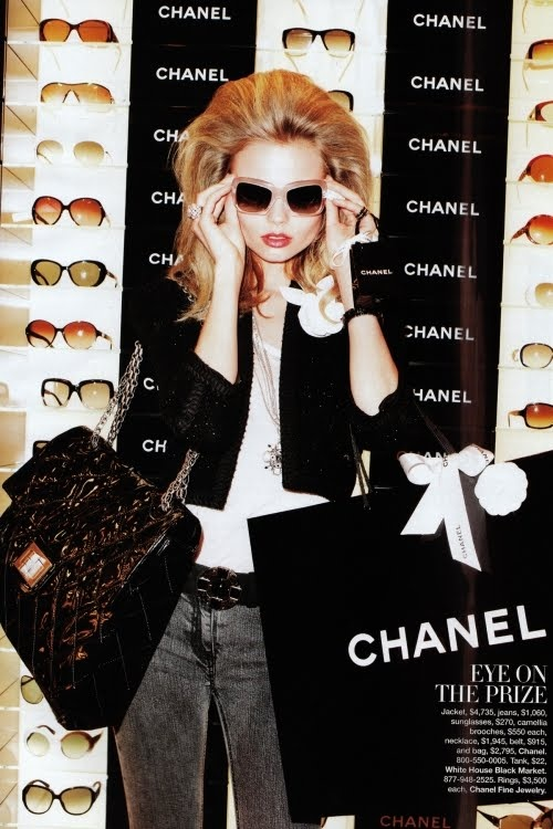 Chanel Shopping in Editorials