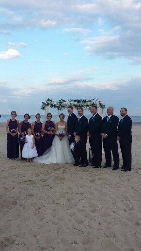 Ocean City Maryland Beach Wedding And Reception Barefootbrideoc