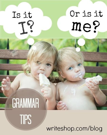 "Is it I or me? Do you think ""I"" sounds refined while ""me"" sounds common or uneducated? These grammar tips will help you use each one correctly."