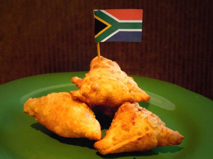 South African Lamb Samosas