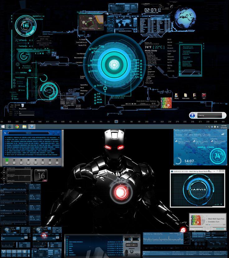 1920x2160 Second Screenshot: Desktop With Just Rainmeter