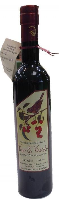 Prodotto tipico delle Marche vino di visciole