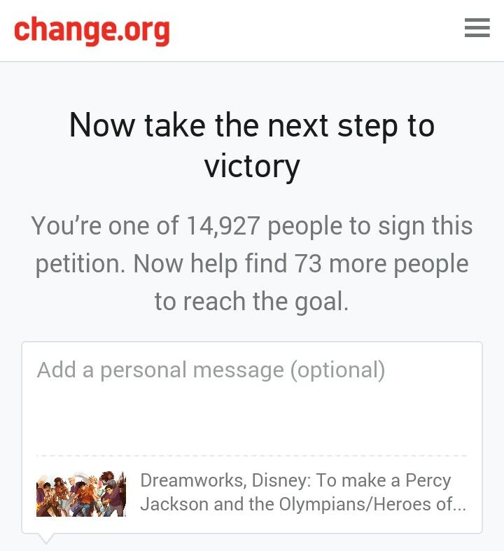 Help please sign rhe link is listed below tgus will make a percy jackson HOO cartoon tv show