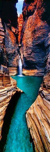 The Infinite Gallery : Karijini NP, Western Australia.