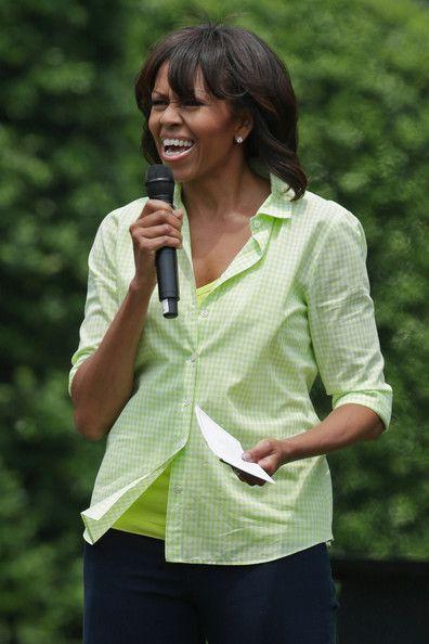 Michelle Obama Photos - Michelle Obama Hosts White House Garden Event - Zimbio