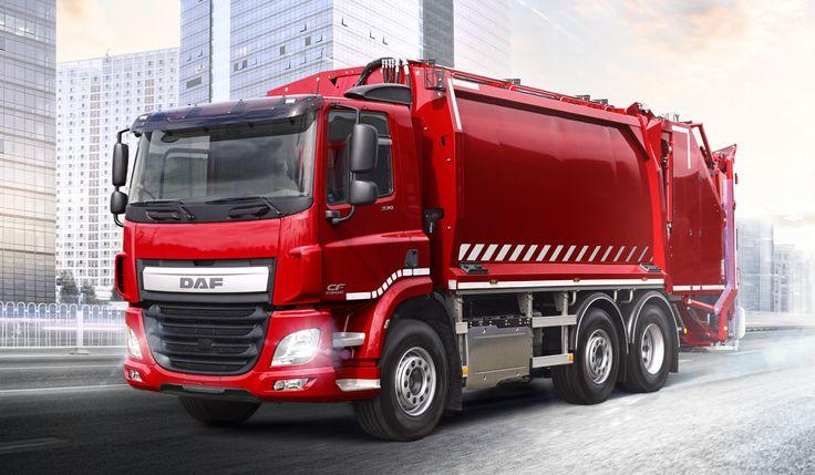DAF équipé pour les travaux de voirie et de nettoyage .Extrait du calendrier 2015