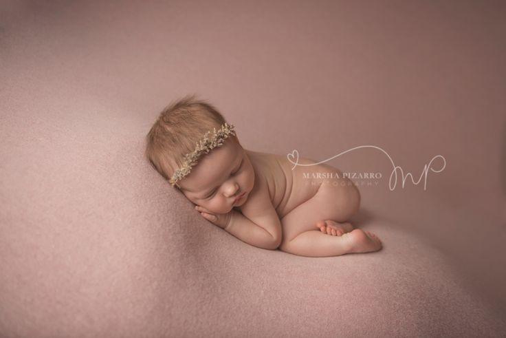 Calgary newborn photographer baby girl Elodie