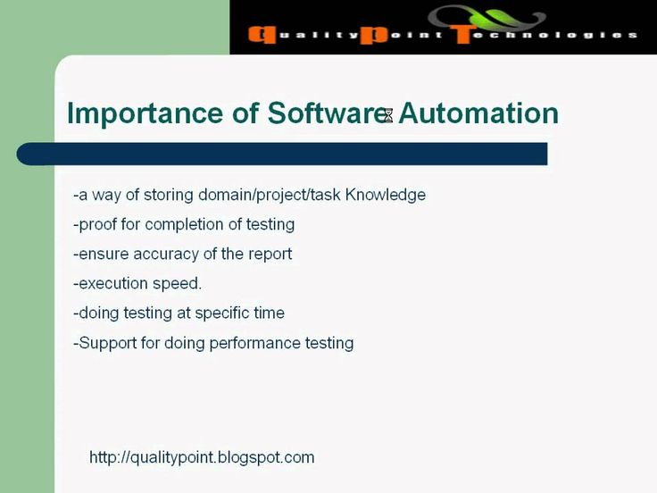 Importance of Software Test AutomationSoftware Testing plays an important role in Software Development lifestyle. Doing manual testing is not enough. We should go for Automation Testing also. This video will explain the need for doing Test Automation.
