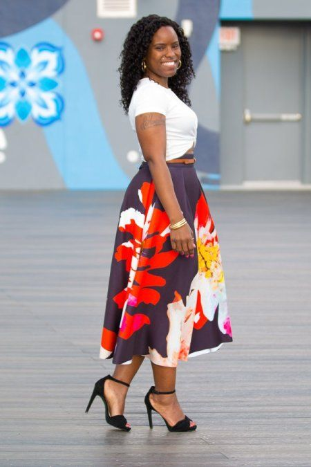 Curves and Confidence: Statement Show Stopper Skirt