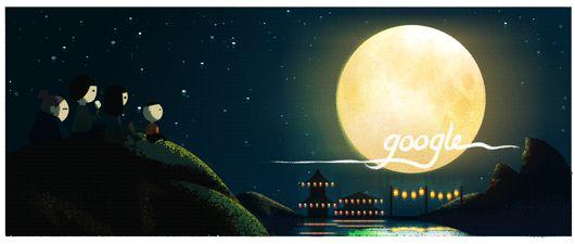 Google Doodle: Mid-Autumn Festival China 2013