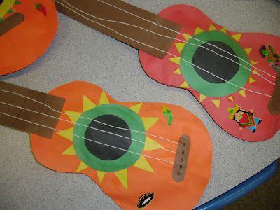 Cinco de Mayo mariachi guitar art.