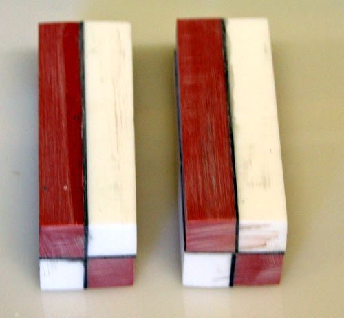 Making A Segmented Pen Using Corian How To Blanks Wood Turning