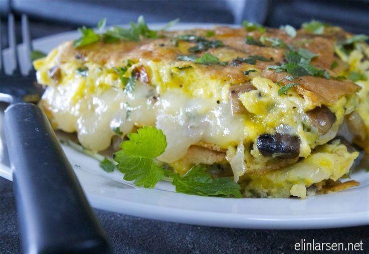 Hei alle sammen. Idag har jeg laget en deilig omelett med den spanske osten manchego. Ost i matlaging løfter smaken, …