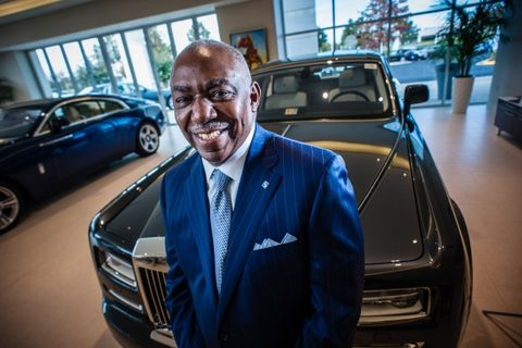 Thomas A. Moorehead is CEO and President of Rolls-Royce Motor Cars Sterling, and also owns the BMW-Mini dealership in Sterling as well as Harley Davidson Washington DC.…by André Chung #_AC19274