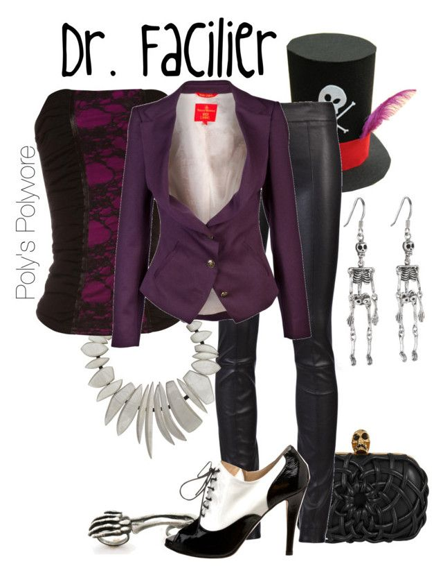 """""""Dr. Facilier"""" by polyspolyvore ❤ liked on Polyvore featuring Alexander McQueen, The Row, Monies, Jane Norman, Butter, Vivienne Westwood Red Label, women's clothing, women's fashion, women and female"""