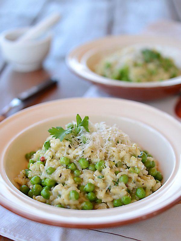 Zielone risotto bardzo wiosenne :)
