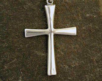 Colgante de plata esterlina Cruz celta de plata por peteconder