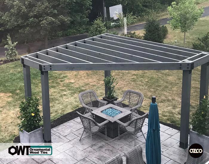 Add Style To Your Pergola Backyard Pergola Outdoor Pergola Pergola Patio