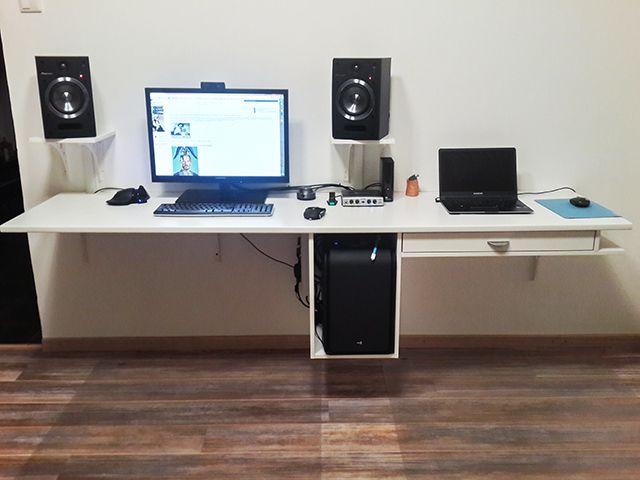 Про компьютерный стол в частности и рабочее место в общем - SickJournal