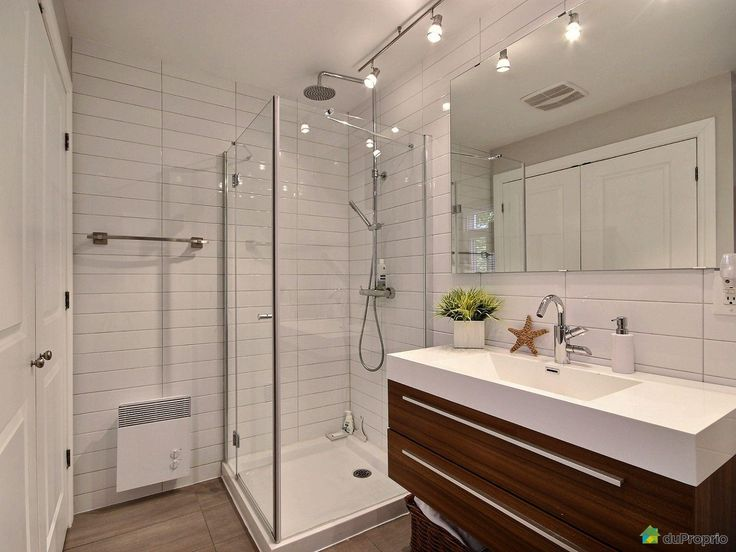 48 best Salles de Bain images on Pinterest | Bathroom ideas, Room ...