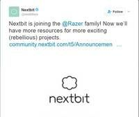 Razer aquires Nextbit, the company behind first cloud based smartphone Startup company Nextbit grabbed the spotlight last year with the launch of world's first cloud-based smartphone named Robin. Post that,…