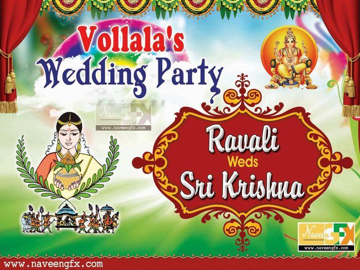 NaveenGFX.com: Wedding banner | Wedding banners | Pinterest ...