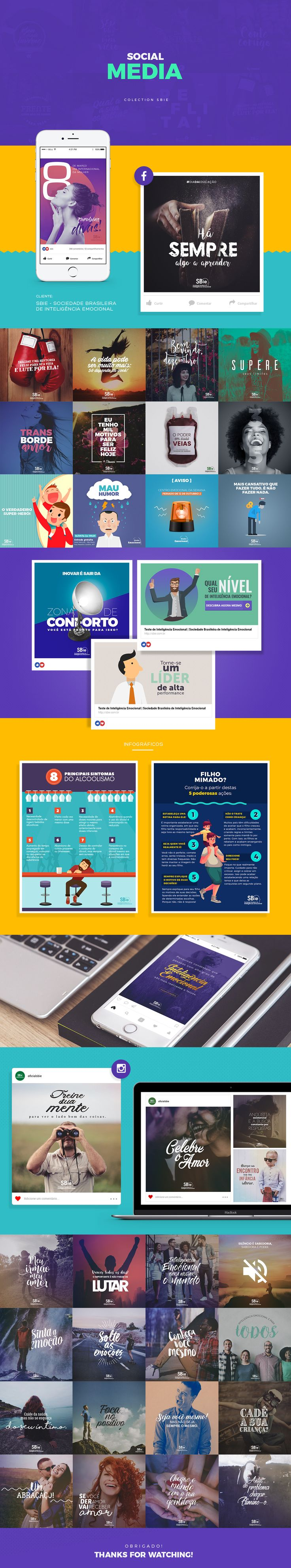 SBIE - Social Media Colection on Behance