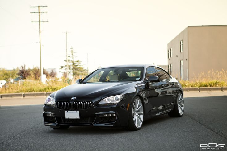Black Sapphire BMW 650i With PUR Wheels