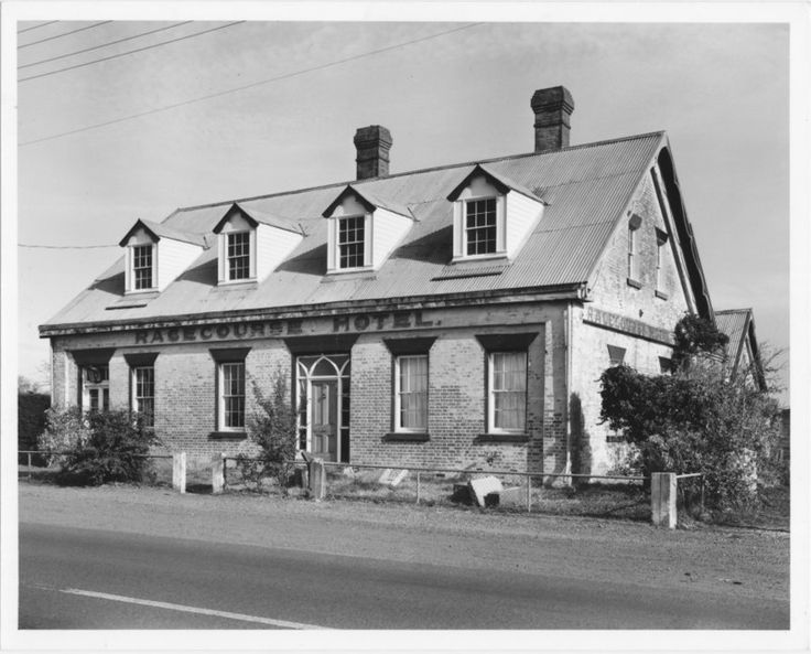 'Racecourse Hotel', Longford, Tasmania; Department of Film Production; 4 May 1977; TSO00018611 - National Trust of Australia (Tasmania) on eHive