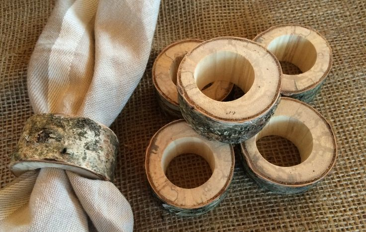 40 Natural Reclaimed Birch Wood Napkin Rings, Rustic Napkin Rings, Woodland Wedding Decor, Rustic Napkin Holder, Natural Rustic Wood Holder by mumamima on Etsy https://www.etsy.com/listing/493248379/40-natural-reclaimed-birch-wood-napkin