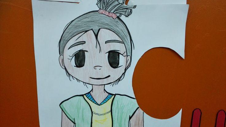 Este dibujo tan creativo fue realizado por una de nuestras estudiantes en el Colegio ABC School #americasbicultural #cademyrd #cademy 809-856-8068 #teens #art