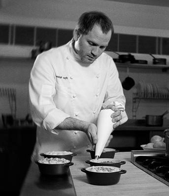 Bryn Williams. Chef in ODETTE'S restaurant in London