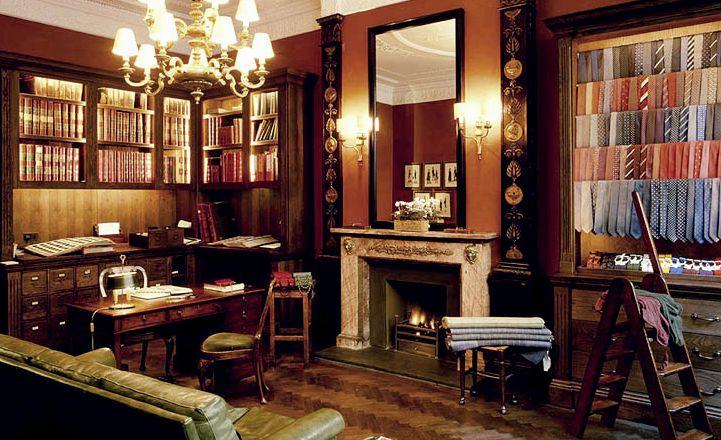 A Savile Row Bespoke Tailoring ShopAnderson And