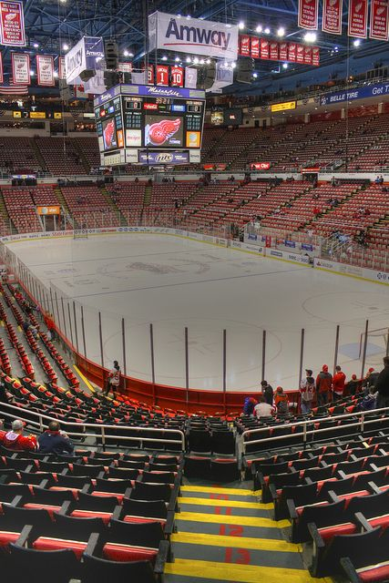 Joe Louis Arena - Home of The Detroit Red Wings - Michigan