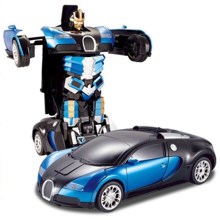 Бесплатная Доставка Роскошный Спортивный Автомобиль Модели Деформации Робот Трансформации Дистанционного Управления RC Car Toys для Детей Рождественский Подарок TT663