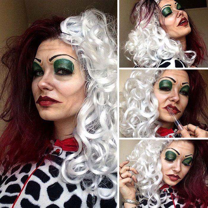 Les étonnants maquillages de Saida Mickeviciute  2Tout2Rien