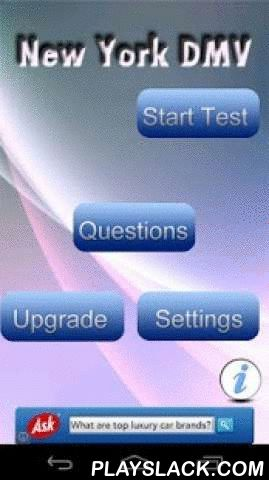 New York DMV Test Prep 2015  Android App - playslack.com , Do you want to spend only a few hours studying and still pass your New York DMV Test on the first try? This app is professionally designed specifically for the State of New York. All the practice questions are based on the latest New York DMV Driver's Manual. 3 test modes are available to suite your individual learning style. Don't waste time and money writing the New York Class D, DJ Test again and again. Study for your New York DMV…