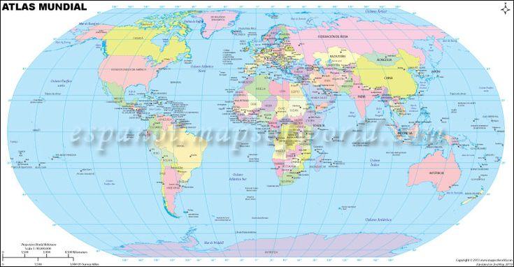 Atlas. Mapas del Mundo.