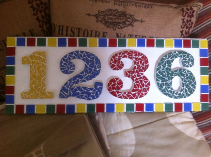 Gift for my sister-in-law #mosaics