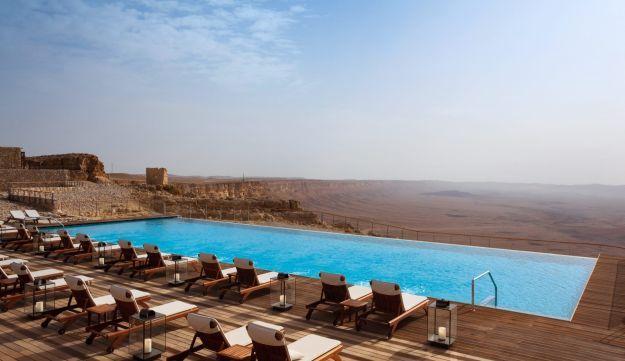 Desert town fails to get a promised bounce from lux hotel next door - Business - Haaretz.com
