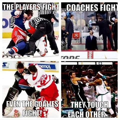 Just some reasons why hockey is the best sport ever. :)