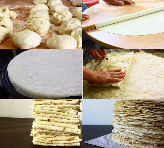 yufka ekmek nasıl yapılır tarifi
