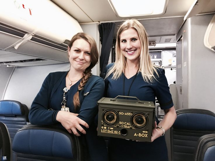 Taking the ultimate ammo can speaker on a plane is quite easy. As these lovely ladies from United Airlines help demonstrate. http://store.thodio.com #Thodio #lasvegas #unitedairlines #maccarranairport #usa #bluetoothspeaker #ammocanspeakers #ammocanspeaker #tactical #edc #nolimits #wifispeaker #portablespeaker #boombox #milspec #tsa #army #ammocan #giftforhim #tailgate #tailgating #hifiporn #hifi #stereo #guitar #guitaramp #marshallheadphones #marshall #camping #bbq