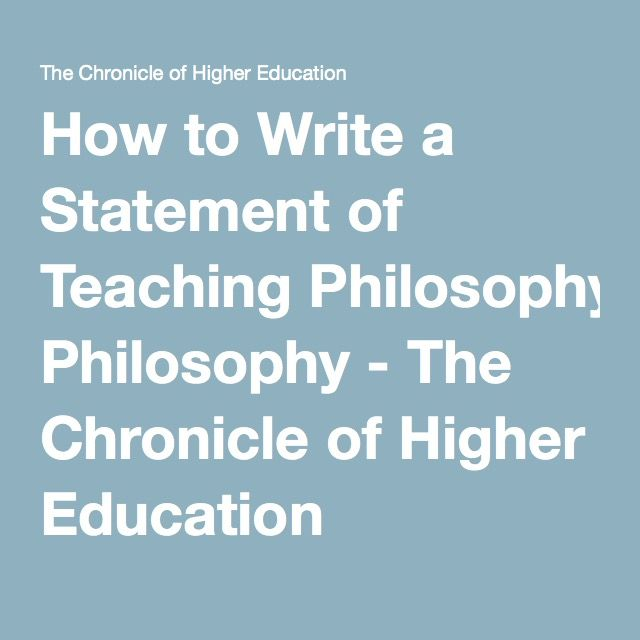 """how to write a teaching philosophy Math philosophy statement """"oh man it's time for lunch, just when math was getting fun"""" a child in my fourth grade classroom sighed loudly after."""